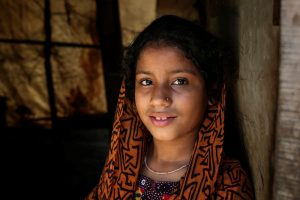 adolescent girl at home Pakistan